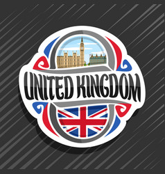 logo for united kingdom vector image