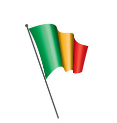 mali flag vector image