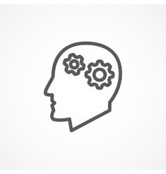Knowledge icon vector image