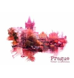 Prague vector image vector image