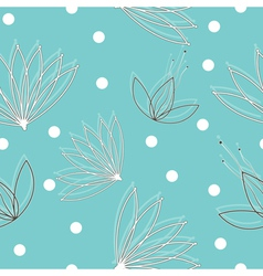 seamless texture with flowers vector image