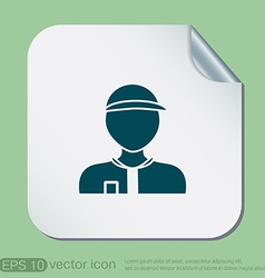 A male avatar Picture a man icon image Man wearing vector image