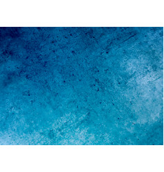 blue grunge surface concrete wall texture vector image