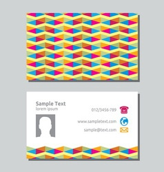 Businessman card4 resize vector image