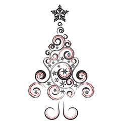 Decorative Christmas Tree2 vector image