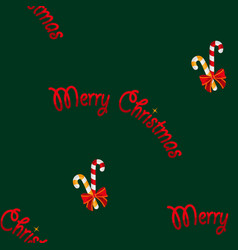 merry christmas lollipops christmas sweets vector image