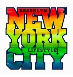 New York Sport T-shirt Design vector