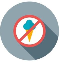 No Icecream vector