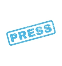 Press Rubber Stamp vector