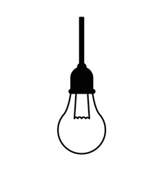 School bulb idea creativity innovation icon vector