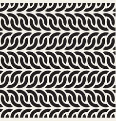 Seamless interlacing lines geometric pattern vector
