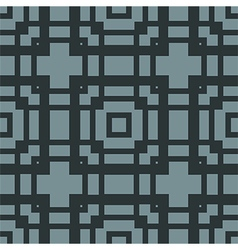 Seamless squares ornament vector