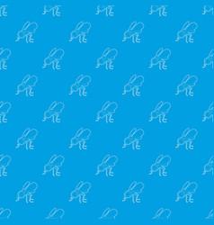 Spy fly pattern seamless blue vector