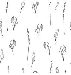 wild flowers pattern vector image