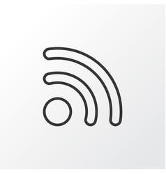 wireless connection icon symbol premium quality vector image vector image