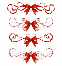 Christmas design element vector image vector image