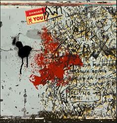 graffiti lane vector image vector image