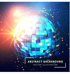 technology abstract background futuristic vector image
