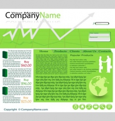 website vector image vector image