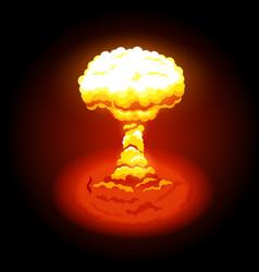 Bright nuclear explosion vector