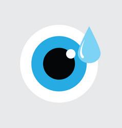 Eye drop icon sign vector
