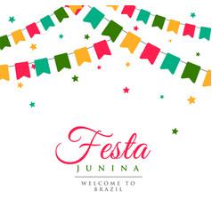 Festa junina party carnival background vector