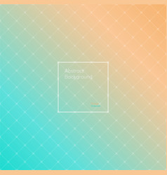 gradient orange and turquoise colored vector image