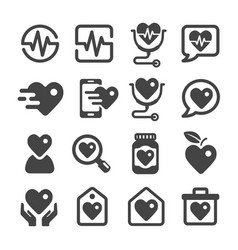health icon vector image
