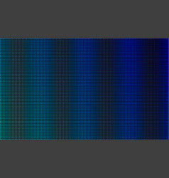 Led video wall screen texture background blue vector