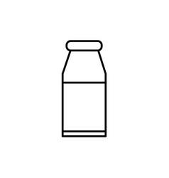 medicine tube icon vector image