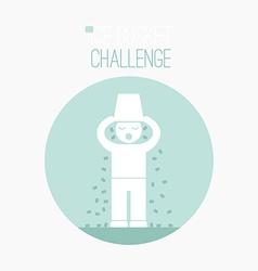 ALS Challenge Concept vector