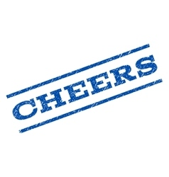 Cheers Watermark Stamp vector