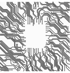Circuit board frame vector