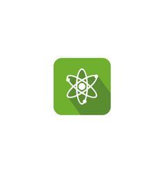 molecule icon symbol logo vector image