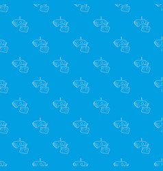 moving camera pattern seamless blue vector image