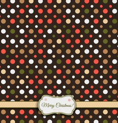 Pattern colored 32fr MChristmas vector image