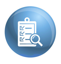 To do check list icon simple style vector