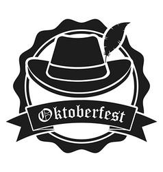 welcome oktoberfest vector image