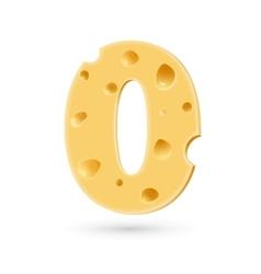 Zero cheese number vector