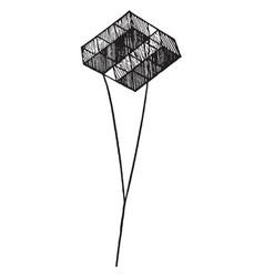 Hargrave kite vintage vector