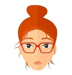 Confused Women Cartoon vector image