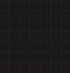 seamless black tiles vector image