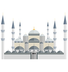 The Blue Mosque Turkey Istanbul vector image