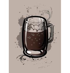 Beer Cup vector image vector image