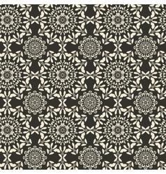 Mandala round ornament seamless texture Circular vector image vector image
