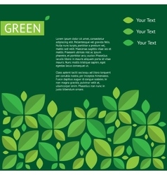 about green ecology protection of vector image