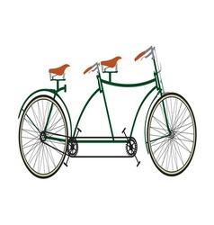 biciklo za dvoje2 resize vector image