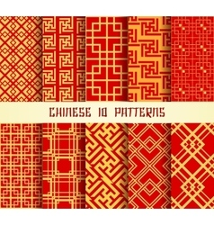 Chinese Pattern set vector