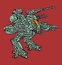 Combat vehicle vector