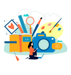 design studio designing drawing photographing vector image